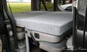 Funda de colchón con diferentes grosores para renault traffic