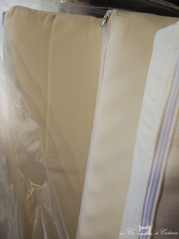 Colch n de ikea en tres partes con ce de costura for Fundas de colchon ikea