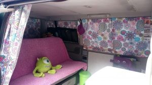 Cortinas en vw T4
