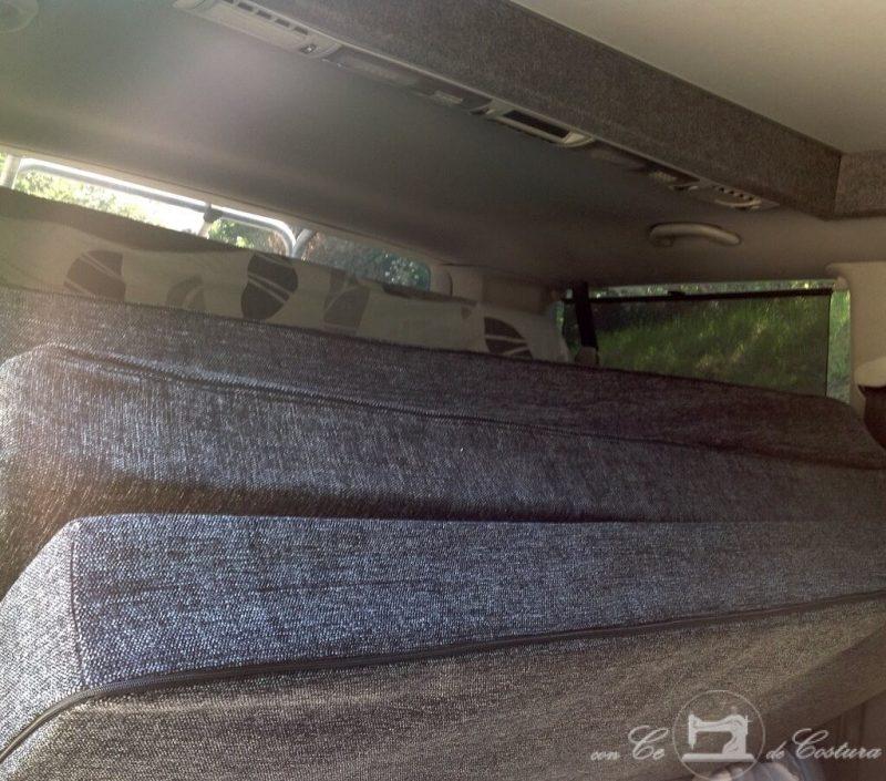 Colchón para furgoneta gran volumen en tres piezas