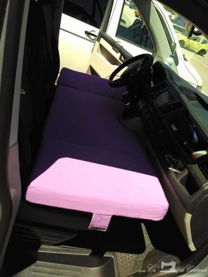 Colchón infantil asientos delanteros vw volkswagen t5 t6